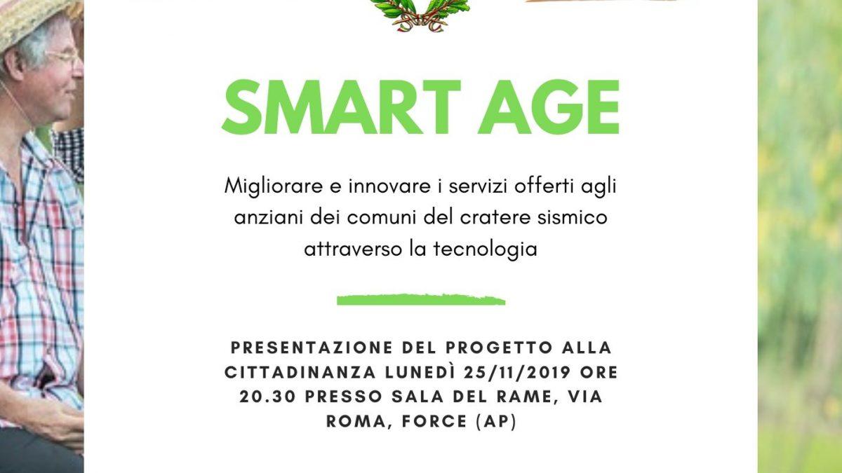 Smart age presentazione progetto invecchiamento attivo