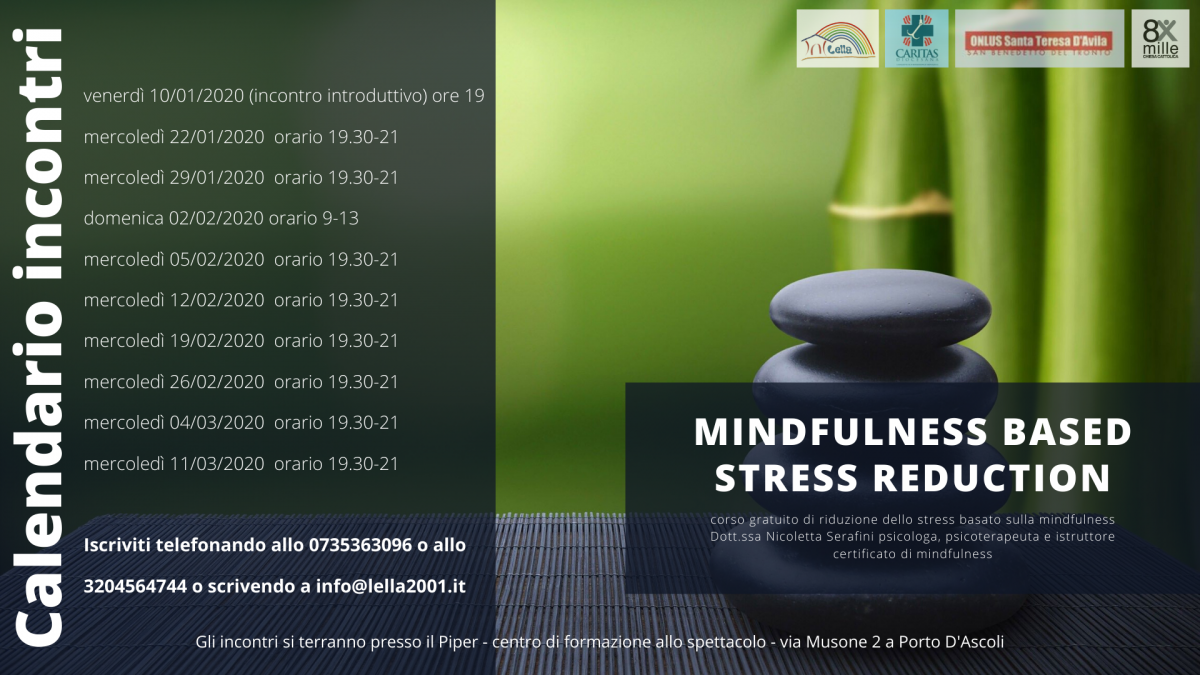 mindfulness based stress reduction volantino